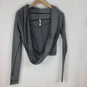 Lululemon Striped Wrap Long Sleeve, size 8